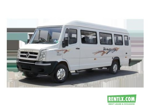 20 Seater Tempo Traveller on Rent in Hyderabad