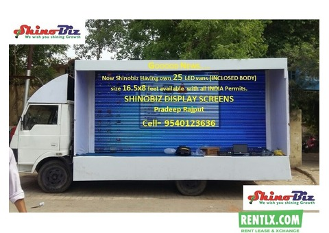 Truck Mount LED Screen on Hire in Lucknow