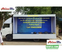 Truck Mount LED Screen on Rent in Lucknow