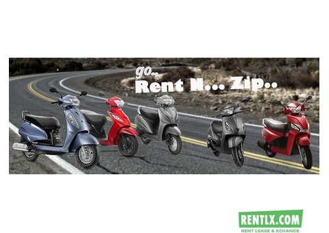Scooty on Rent in Bangalore