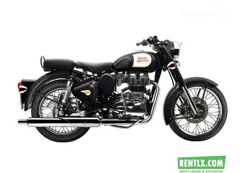 Royal Enfield Classic 350 Cc on Rent in Mumbai