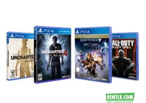 PS4, Xbox Games and Consoles on Rent in Hyderabad