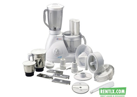 Food Processor For Rent in Chennai