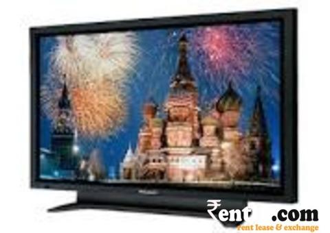 LCD/PLASMA TV on rent