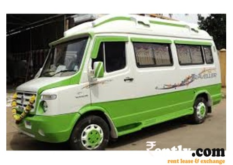 Van & Tempo Traveller on rent for outside city in Chennai
