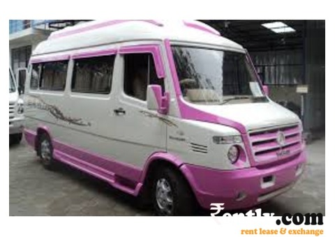 Van & Tempo Traveller on rent in Chennai