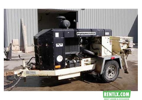 Putzmeister Concrete Pump 1404 for Rent in Delhi