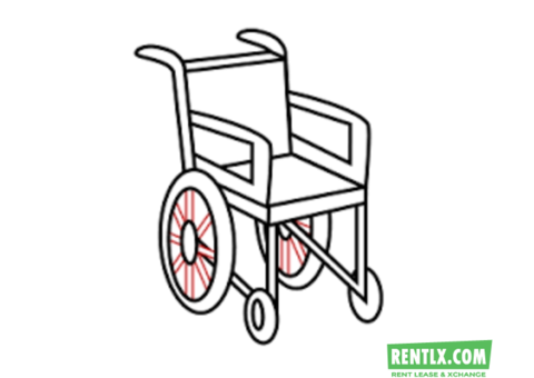 Wheelchair For Rent in  Uppal, Hyderabad