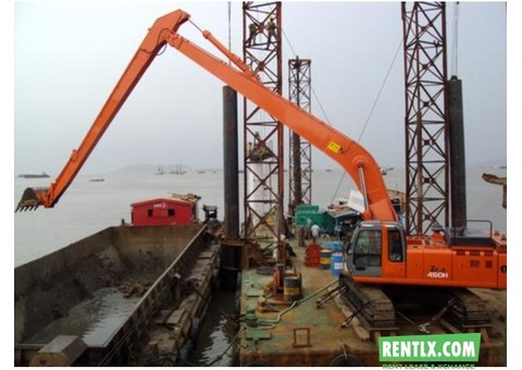 Medium Excavator Amphibious Excavator For Rent in Mumbai