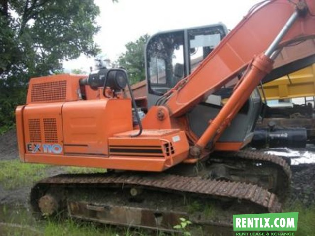 Tata Hitachi 110 Excavator available for Hire in Chhatapur