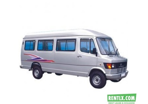 20 Seater Tempo Traveller on Rent in Pune