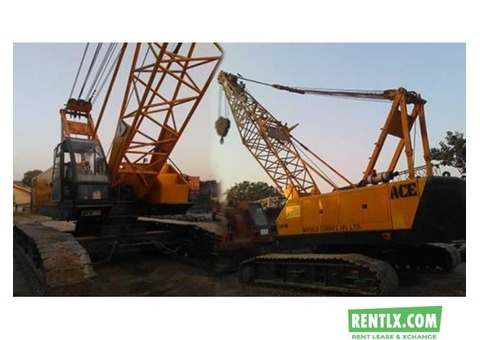 Crawler Cranes  on Hire in Delhi NCR