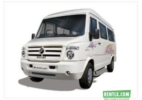 Tempo Traveller on Hire in Jaipur