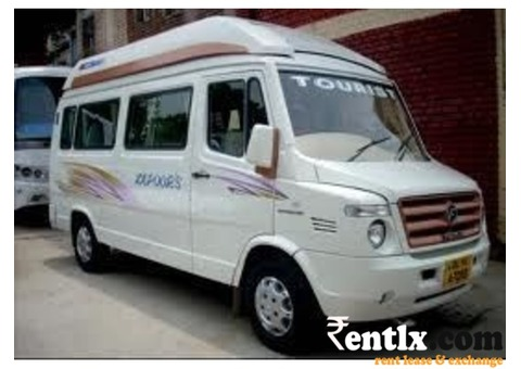 Hire,Rent 12 seater A C Tempo Traveller