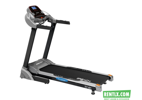 Rent Motorized Treadmill for homeuse in Gurgaon