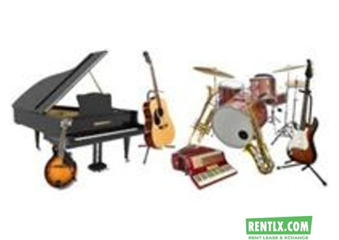 MUSICAL INSTRUMENT ON RENT IN DELHI