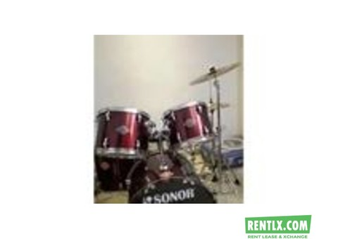 Drum Kit on Rent in Delhi