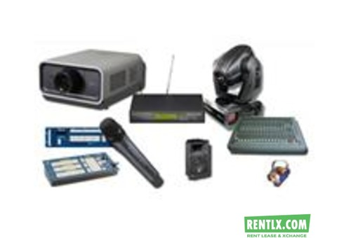 AUDIO VISUAL EQUIPMENT ON RENT IN DELHI