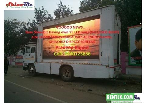 Advertising Video Van on rent