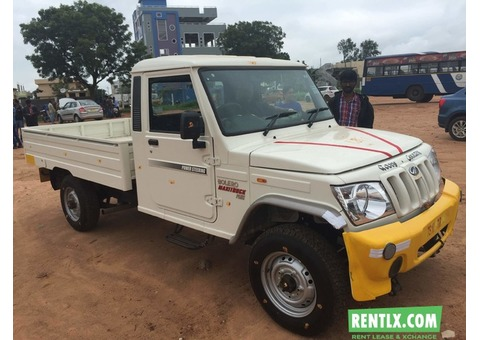 Brand New Mahindra Bolero on Rent in Hyderabad