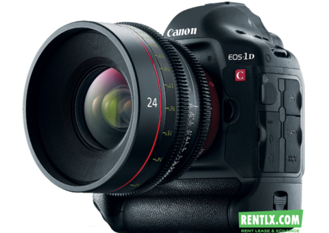 Canon EOS-1D C Camera on Rent in Hyderabad
