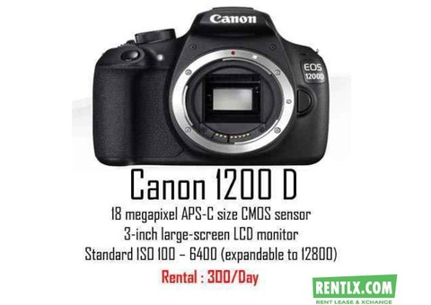 DSLR On Rent in Hyderabad
