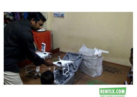 Flycam (Drone) on hire/Rent DJI phantom4 in Hyderabad