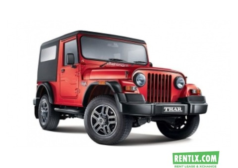 Mahindra-Thar for Self Drive on Rent in Goa