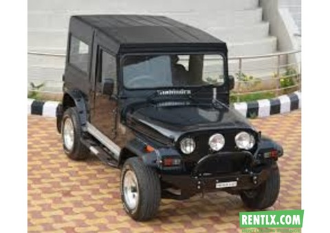 Mahindra Thar Car on Hire in Goa