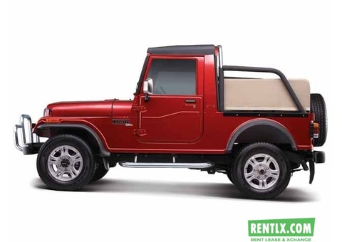 Mahindra Thar on Rent in Goa