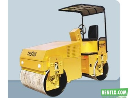 Vibratory Road Roller on Hire in Pune
