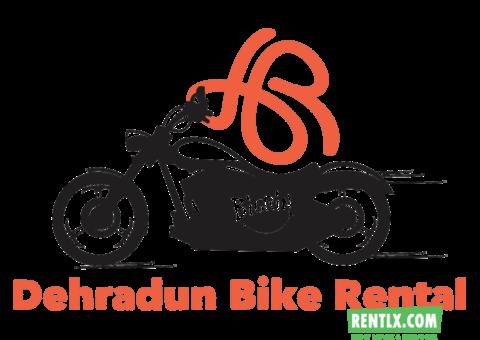 Bikes on Rent in Dehradun