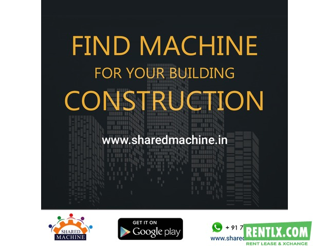 Construction Machinery Hire or Rent in Pune