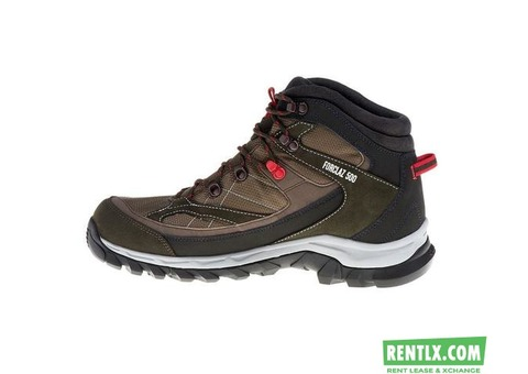 Trekking shoes on RENT in Bangalore
