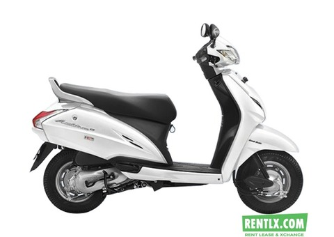 Scooter for rent in Bangalore