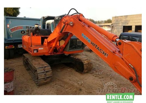 JCB and hitachi 110 for rent in Telangana