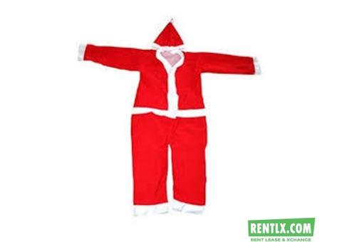 Santa Claus Christmas Dress on Rent in Tirunelveli