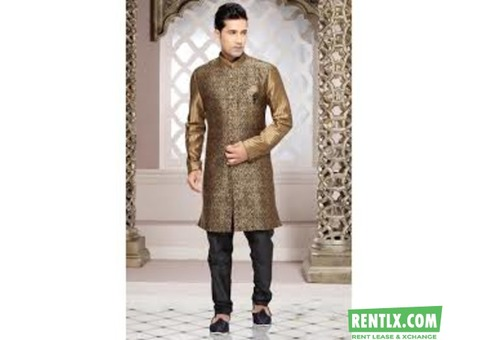 Indo Western Sherwani on Rent in Pune