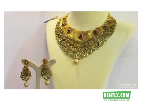 Jewellery for marriage function on Rent in Chennai