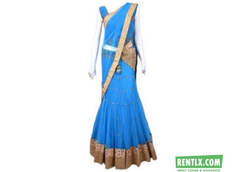 Partywear Sarees on hire in Hyderabad