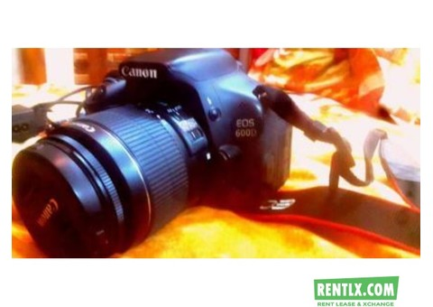 Canon DSLR Camera On Rent in Mumbai