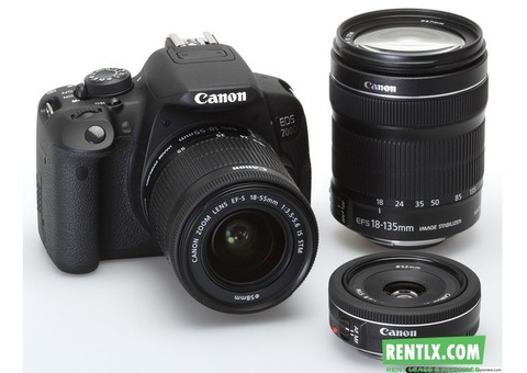 DSLR Camera For Rent In Chennai