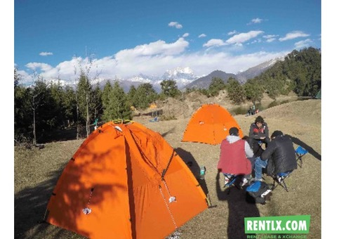Camping Tent on Rent in Delhi