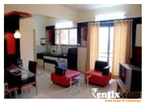 Well furnished Service Apartment for Rent