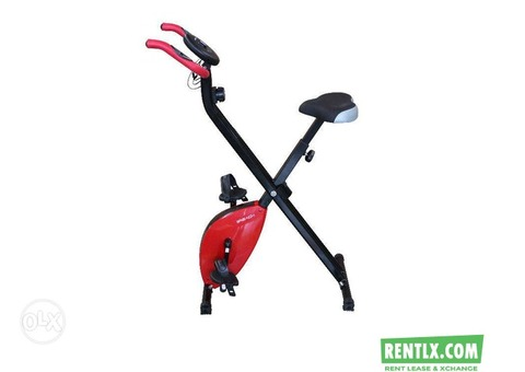 Magnetic Exercise Bike/Cycle on Rent in Bangalore