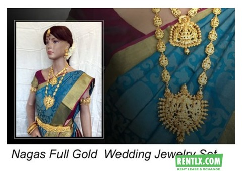 Bridal Jewellery sets on rent in Chennai