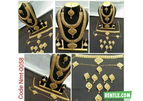 Bridal Jewellery for Rent in Chennai