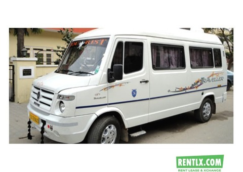 Tempo traveler on Rent in in Jaipur