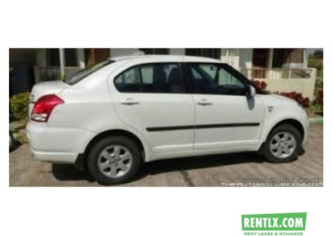 Swifft Dzire for monthly rent in Hyderabad
