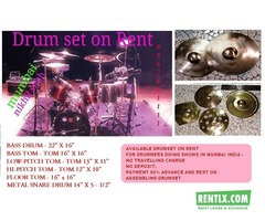 Drum set on rent mumbai